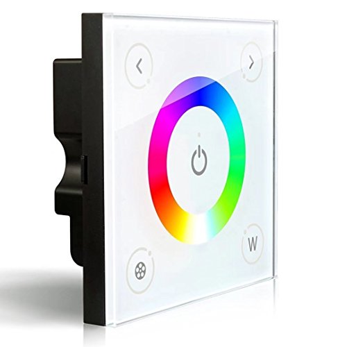 Led Strip Light Wall Dimmer: LEDENET® D4 Wall-mounted Touch Panel Full Color RGBW