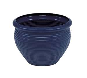 Emsa 847320400 Siena - Maceta redonda (32 cm), color azul