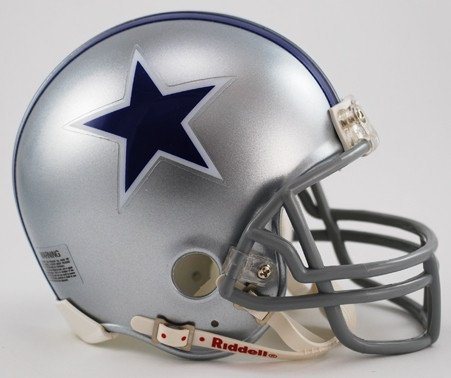 Riddell NFL Dallas Cowboys 1964-1966 Throwback Replica Vsr4 Mini Football Helmet