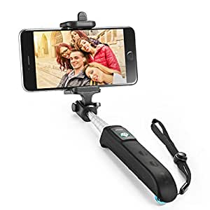 Selfie Stick, Anker Extendable Bluetooth Monopod with Built-in Remote Shutter for iPhone Se/6s/6/6 Plus, Samsung Galaxy S7/S6/Edge, Note 5/4, Nexus 6P/5X, LG G5, Moto X/G and More