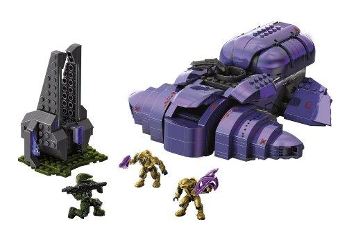 Amazon Mega Bloks Halo Covenant Wraith 97014 Toys Games