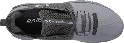 Under Graphite UA Steel da Drive 4 Armour Uomo Low Scarpe Basket nnrgvxw4