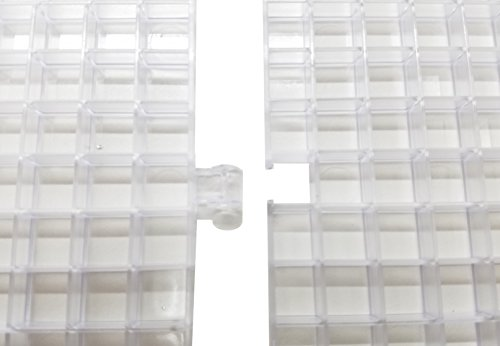Creator's Waffle Grid 6-Pack Translucent/Clear Modular Surface For Glass Cutting, Drying Rack, Small Parts or Liquid Containment. Use At Home, Office, Shop - Works With Creator's Or Morton Products by Creator's (Image #2)