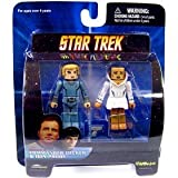 Star Trek Diamond Select Toys Series Series 5 Minimates Commander Becker and Ilia Probe