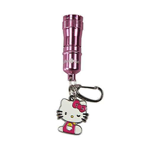 Life Gear Hello Kitty Aluminum Flashlight Key Chain by Life Gear