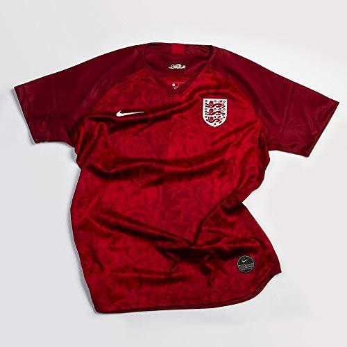 Nike 2019-2020 England Womens Away Soccer Jersey 3