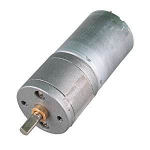 Nextrox 12v 120rpm Powerful High Torque Dc Gear Box Motor