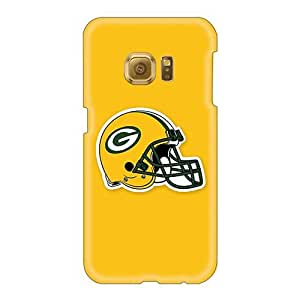 Hard Protect Phone Case For Samsung Galaxy S6 (srK135aPZL) Provide Private Custom Realistic Green Bay Packers 5 Pictures