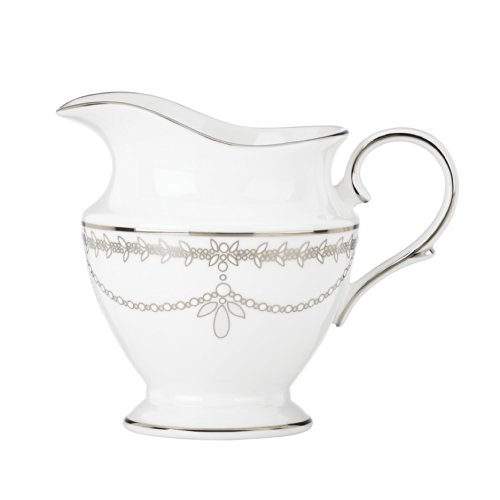 Lenox Marchesa Empire Creamer Cup, Pearl - China Pearl China Creamer