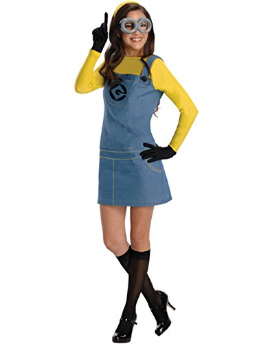 (Rubie's Women's Despicable Me 2 Minion Costume with Accessories, Multicolor,)
