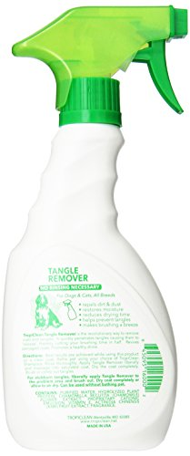 Tropiclean Tangle Remover 16oz Dog Training