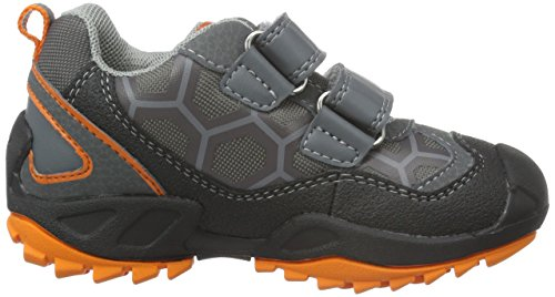 Geox J New Savage Boy B - Zapatillas para niños Gris (Grey/ORANGEC0036)