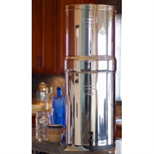 Berkey-CRN8X2-BB-Crown-Water-Purification-System-with-2-Black-Elements