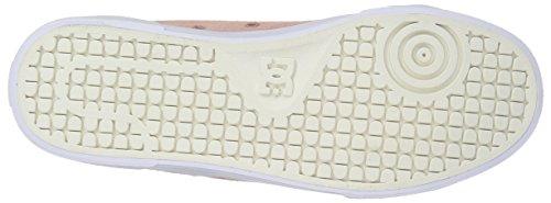 para DC Zapatillas SHOES WHITE Parfait cuero KIDS D0301094B D0301094B niño de LIME SHOE DCSHOES Peach CHARACTER SOFT white pBrqH16Wp