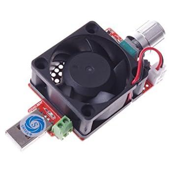 smakn 15w usb smart thermostat adjustable constant current electronic load charge. Black Bedroom Furniture Sets. Home Design Ideas