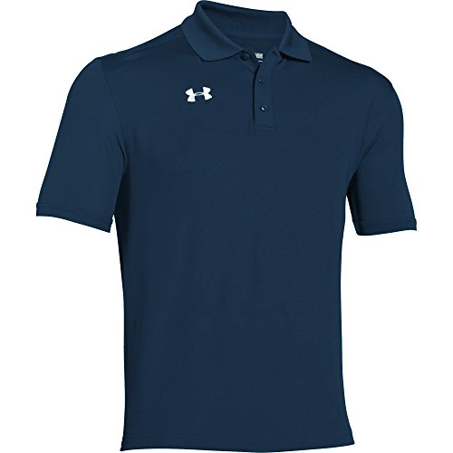 Under Armour Team Armour Men's Golf Polo (Midnight Navy, X-Large) ()