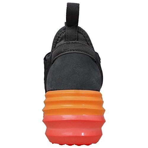 nike lunarelite sky hi zapatillas mujer puntera alta 631376 zapatillas dark grey bright mango 006