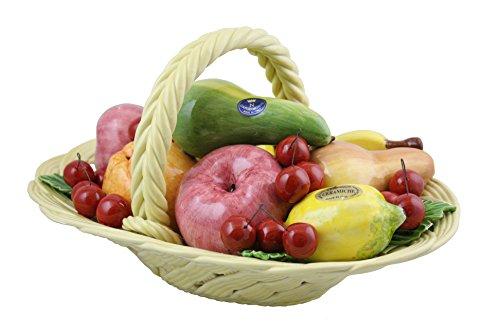 Capodimonte Oval Fruit Basket