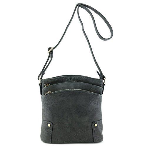 Triple-Zip-Pocket-Large-Crossbody-Bag