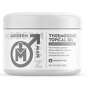 e57417cc382 Modern Man Thermogenic Fat Burning Cream - Belly Fat Burner for Men - Skin  Tightening Sweat Enhancer Gel