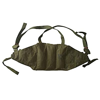 HOME DAILY SALE Original Chinese Type 56 Military Surplus AK 47 Chest Pouch Rig Ammo Mag Bandolier
