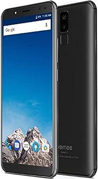 Vernee X - FHD de 5,99 Pulgadas (relación 18: 9) Smartphone Android 4G, Octacore de 2,0 GHz 4 GB + 64 GB, batería de 6200 mAh, Cuatro cámaras (13MP + 5MP + 16MP + 5MP), Reconocimiento Facial: Amazon.es: Electrónica