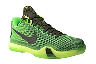 Amazon.com | Nike Kobe X \u0026quot;Green Vino\u0026quot; Men\u0026#39;s Shoes Poison Green/Sequoia-Volt 705317-333 | Basketball