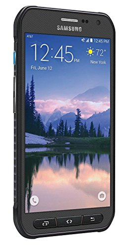 Samsung Galaxy S6 Active G890A 32GB Unlocked GSM 4G LTE Octa-Core Smartphone w/ 16MP Camera - Gray (Certified Refurbished)
