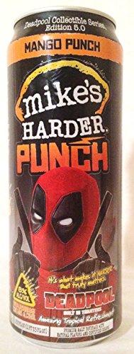 Marvel Comics: Deadpool Mike's Hard Lemonade 2016 Can #5 Mango Punch 23.5 oz EMPTY