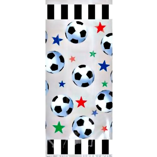 Soccer Party Goody Bags - Soccer Party Favors Bag - 20 Count ()