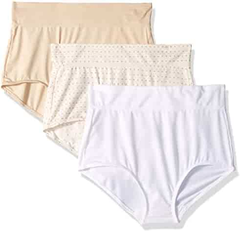 35624097ac20 Warner's Women's No Pinching No Problems with Lace Hipster 3 Pack Panties