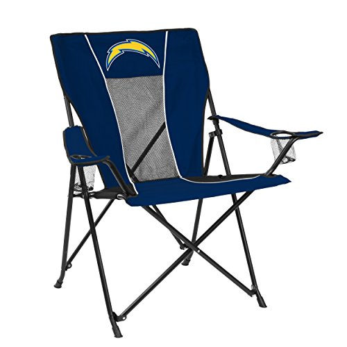 Logo Brands NFL LA Chargers Game Time Chair ()
