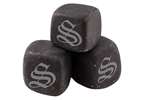 Engraved Personalized Whiskey Stones, Custom Whiskey Rocks, Chill Stones, Wine Stones, Etched Drink Cubes – BWS03 For Sale