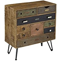 Treasure Trove Accents 68224 Nine Drawer Chest, 29.5 x 14 x 32, Multicolor