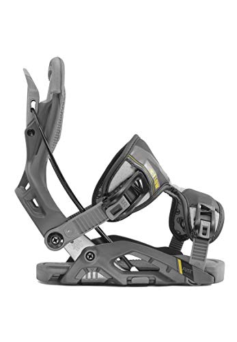Flow Fuse Fusion Snowboard Bindings Mens Spacegrey... (XL (11-15))