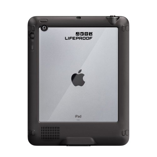 LifeProof NÜÜD iPad 2/3/4 Waterproof Case - Retail Packaging - BLACK