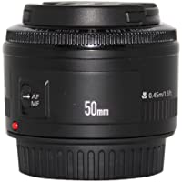 Canon EF 50mm f/1.8 II Camera Lens - Fixed International Version (No warranty)