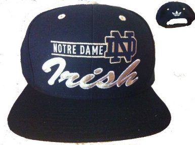 afacf30dead Image Unavailable. Image not available for. Color  Notre Dame Adidas Irish Snapback  Black and Gold