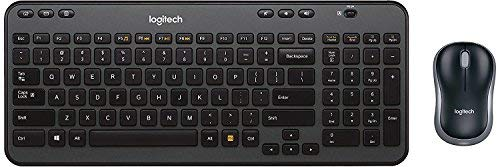 Logitech Wireless Combo MK360 – Includes Keyboard with 12 Programmable Keys and Wireless Mouse, Compact Package, 3-Year Battery Life