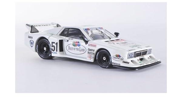 Lancia Beta Monte Carlo Turbo Zolder, No.51, 1980, Modelo de Auto, modello completo, Best 1:43: Mejor: Amazon.es: Juguetes y juegos