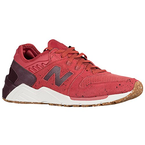 NEW BALANCE ML009PN SPECKLE SUEDE ROSSO UOMO