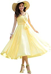 Amazon.com: Yellow - Special Occasion / Dresses: Clothing- Shoes ...