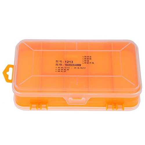 tool boxes durable double sided component box