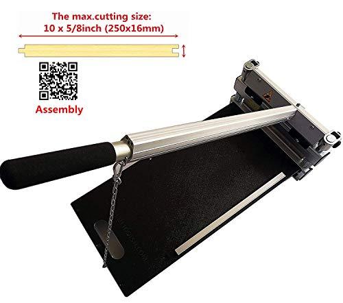 (MantisTol 10 inch Laminate floor cutter MC-250 for laminate,Engineered Wood,Fiber cement siding,LVP,LVT,VCT,SPC,RVP,WPC,Vinyl Flooring and more! best buy!)