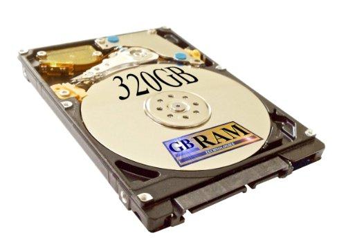 320GB SATA Hard Drive (5400 RPM) for HP Pavilion DV6000 DV6000t DV9000 - Notebook 320 Gb Hdd
