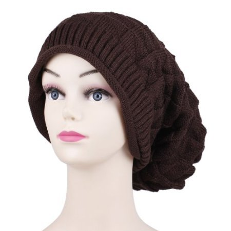 c029bcbc987f7 UZZO trade;2014 New Fashion Unisex Women And Men Solid Color Casual Hip Pop  Hat Winter Cable Knit Crochet Wool Baggy Beret Beanie Slouch Hat Cap Ski ...