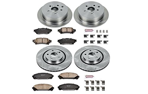 (Autospecialty (KOE5828) Daily Driver OE Brake Kit, Front and Rear)