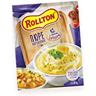Rollton Instant Mashed Potato with Fried Onion 40g/1.41oz (Pack of 5)