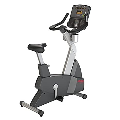 Life Fitness Club Serie Vertical Ciclo Bicicleta estática: Amazon ...