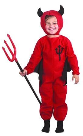 Desconocido Disfraz de diablo para niño ideal para Halloween ...